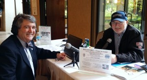 Al J. Mooney, MD (left), and Recovery Coast to Coast radio host Neil Scott.